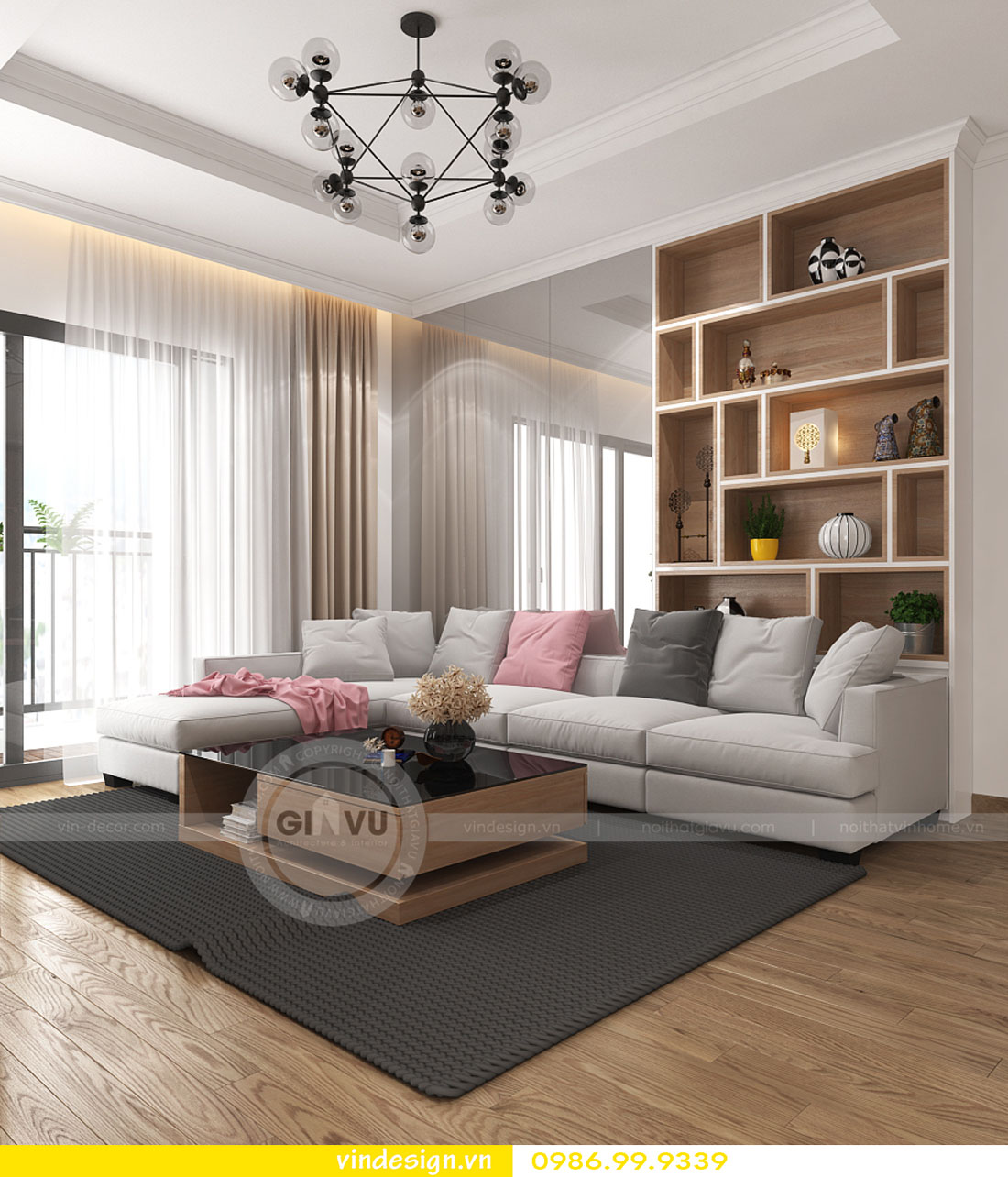 hoàn thiện nội thất chung cư Gardenia chỉ với 150 triệu 01