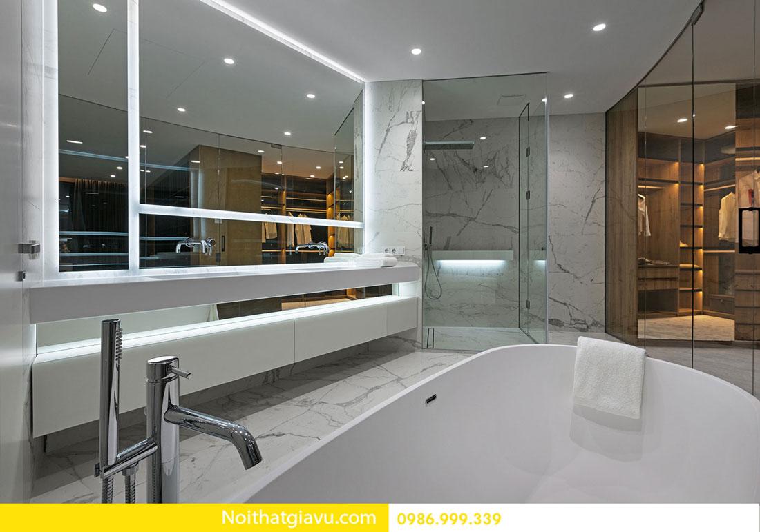 mẫu thiết kế nội thất chung cư hiện đại trẻ trung 10