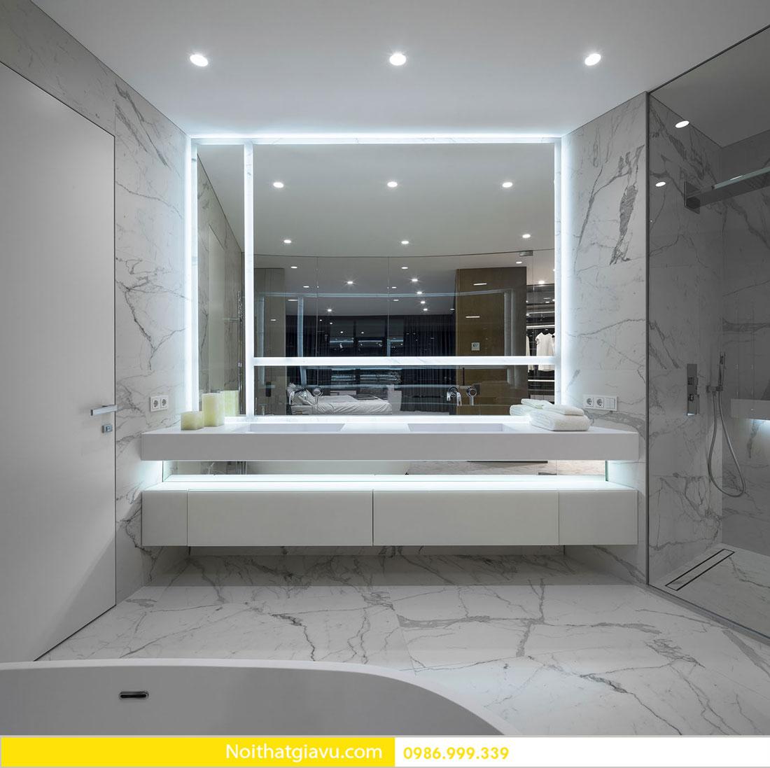 mẫu thiết kế nội thất chung cư hiện đại trẻ trung 11