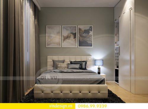 Mẫu thiết kế nội thất phòng ngủ chung cư đẹp hiện đại 2018