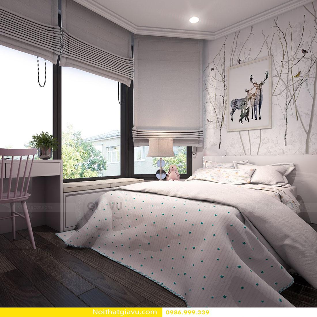 mẫu thiết kế nội thất phòng ngủ chung cư đẹp hiện đại 2018 02