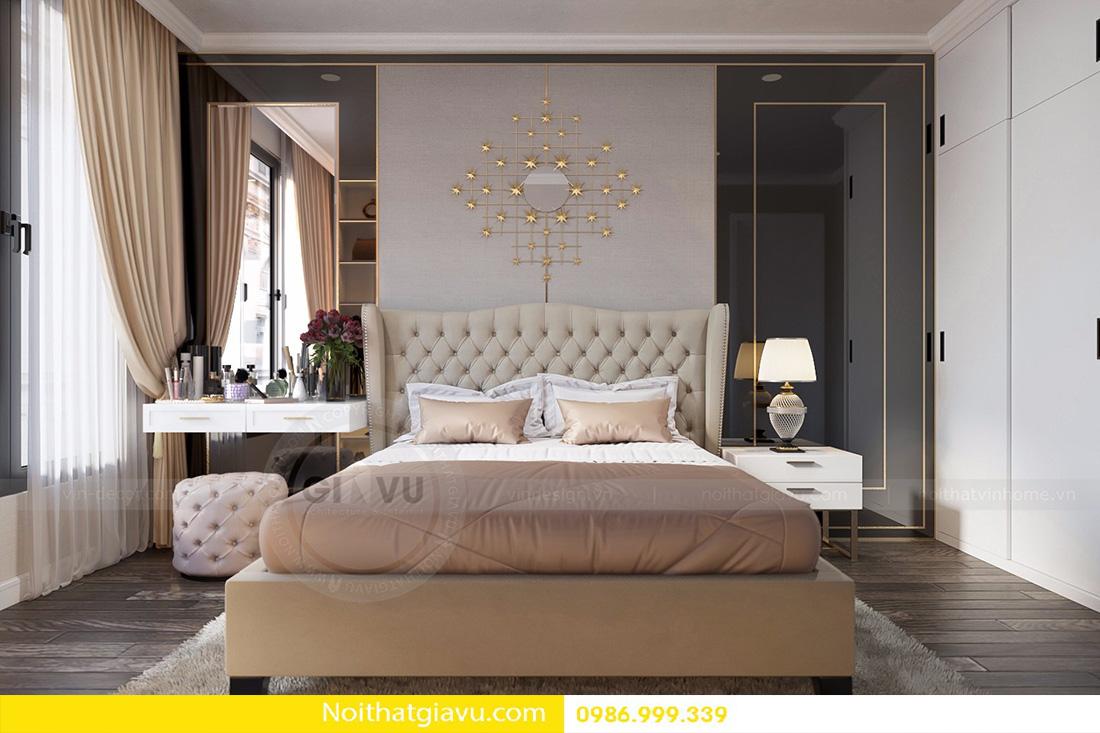 mẫu thiết kế nội thất phòng ngủ chung cư đẹp hiện đại 2018 03