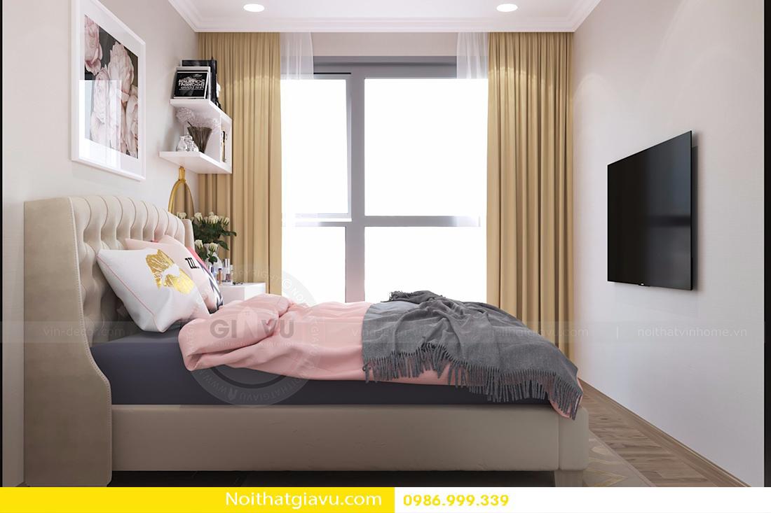 mẫu thiết kế nội thất phòng ngủ chung cư đẹp hiện đại 2018 04
