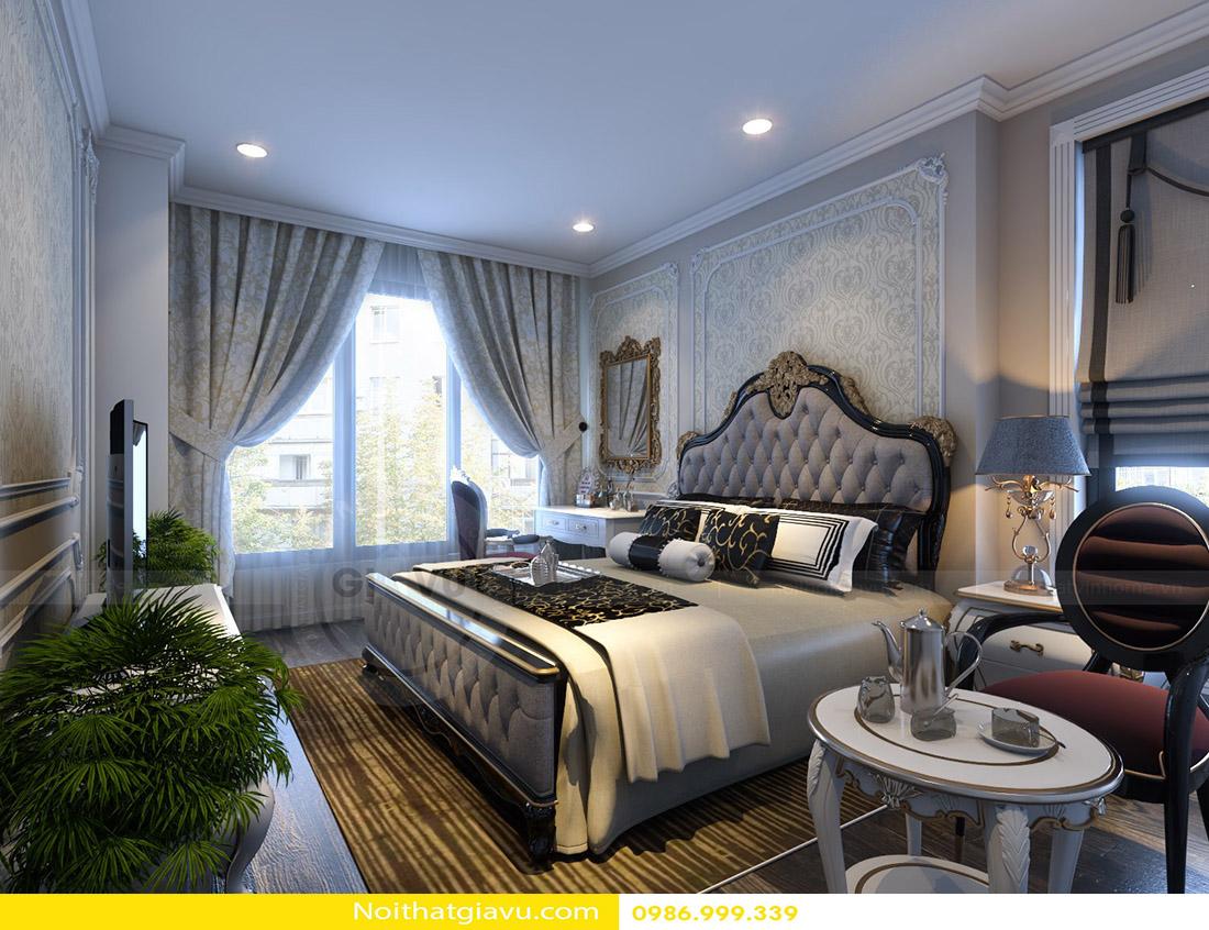 mẫu thiết kế nội thất phòng ngủ chung cư đẹp hiện đại 2018 07