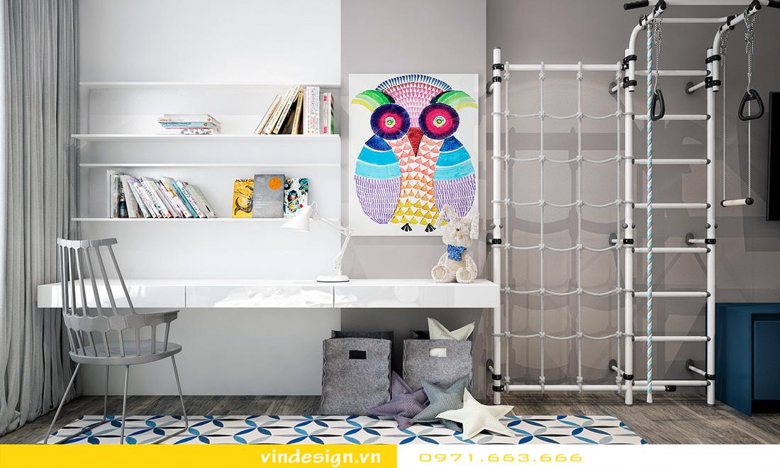 mẫu thiết kế nội thất phòng ngủ chung cư đẹp hiện đại 2018 11