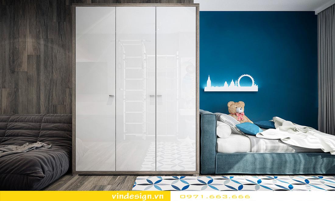 mẫu thiết kế nội thất phòng ngủ chung cư đẹp hiện đại 2018 12