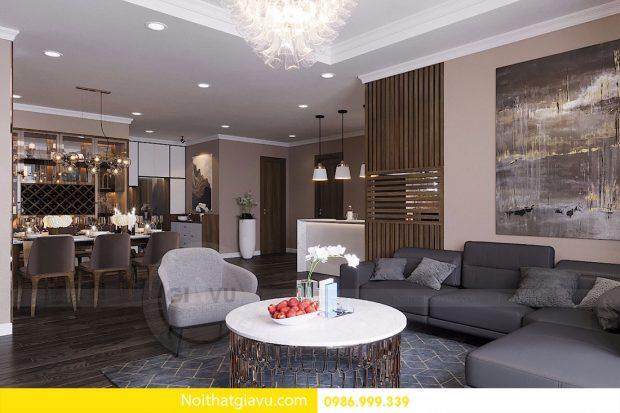 Nội thất căn hộ chung cư Vinhomes DCapitale sang trọng, tiện nghi