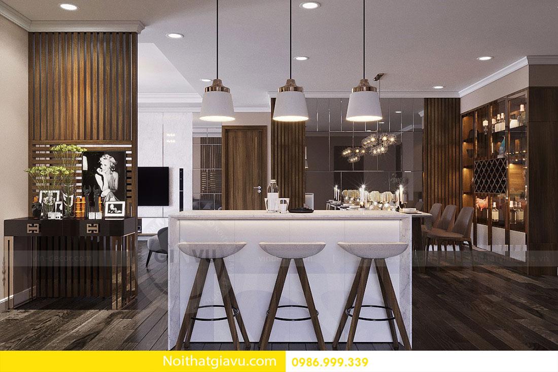 Nội thất căn hộ chung cư Vinhomes DCapitale 3