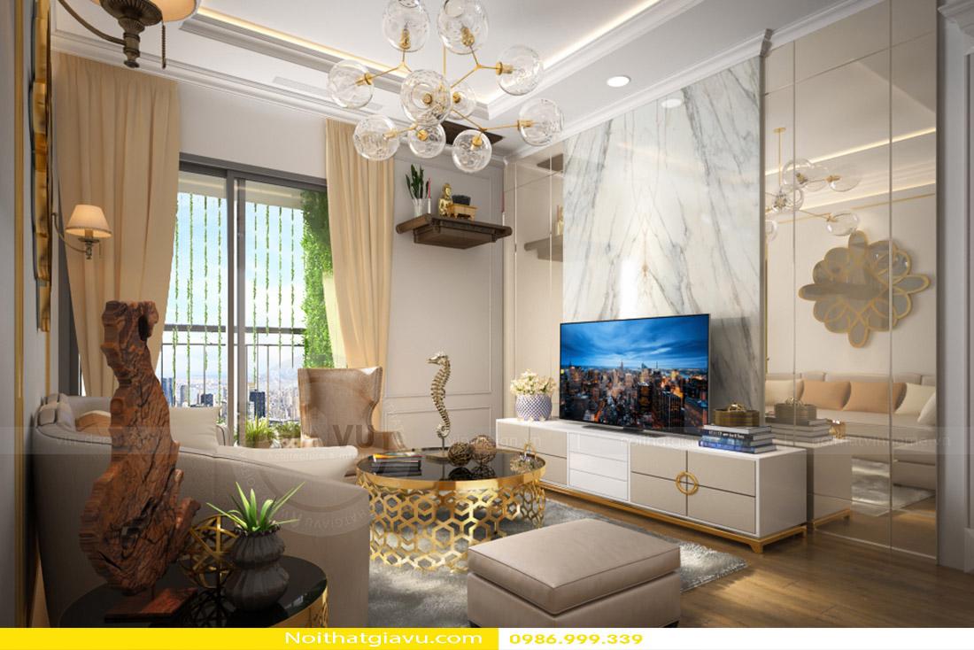 nội thất phòng khách chung cư đẹp đẳng cấp hiện đại 01