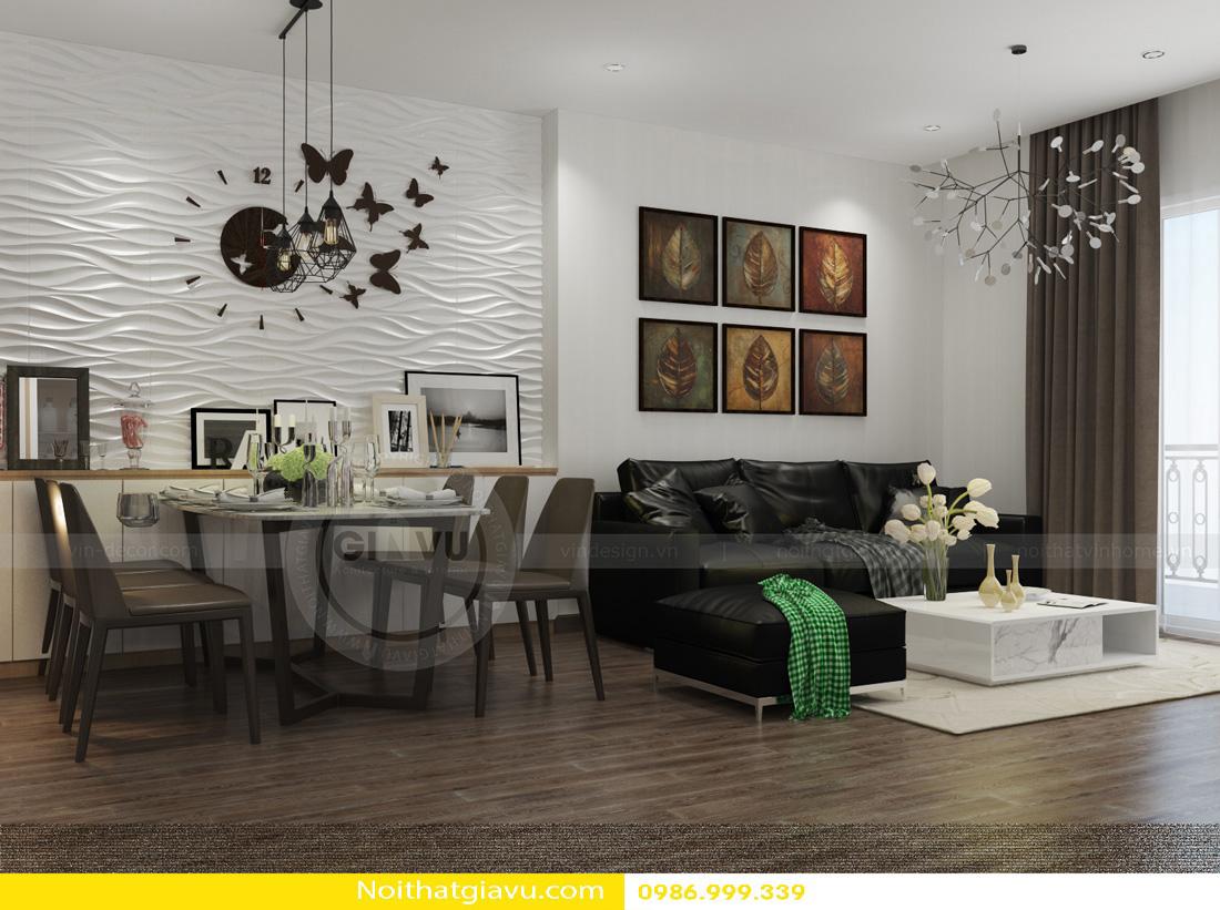 nội thất phòng khách chung cư đẹp đẳng cấp hiện đại 04