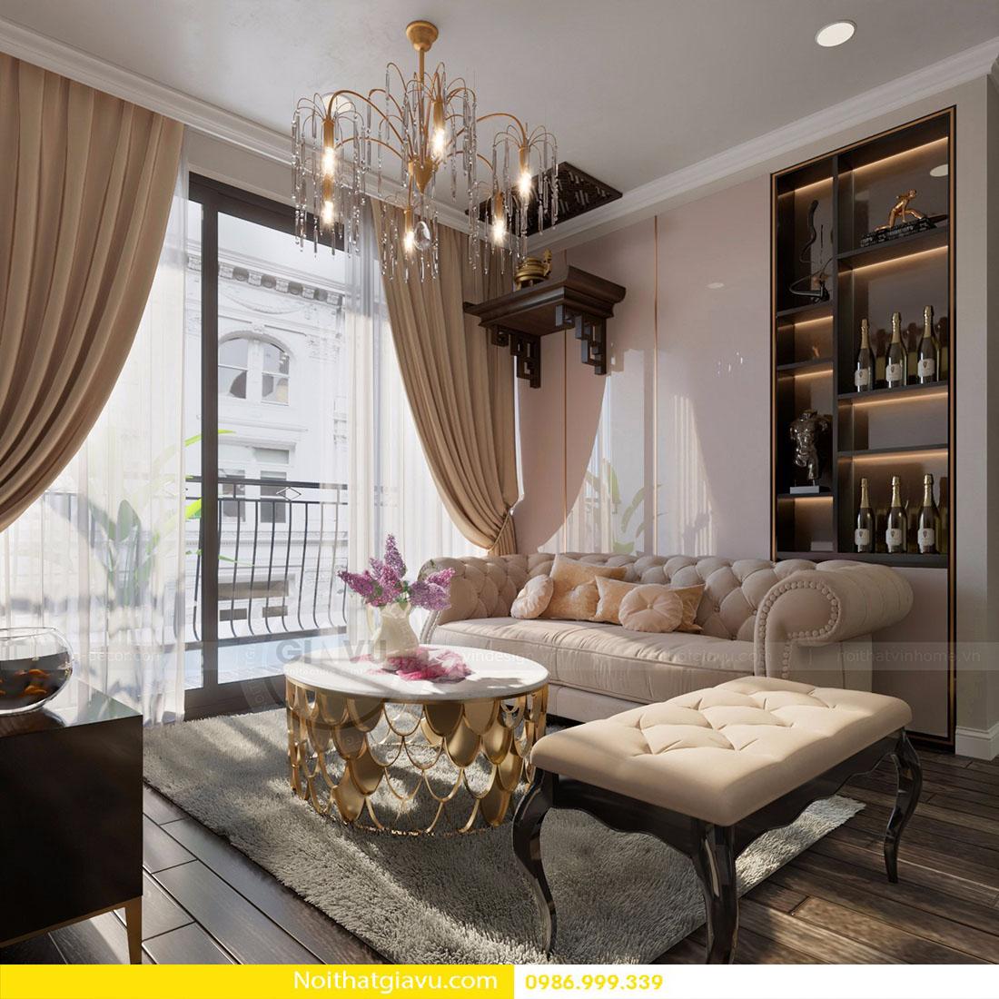 nội thất phòng khách chung cư đẹp đẳng cấp hiện đại 08