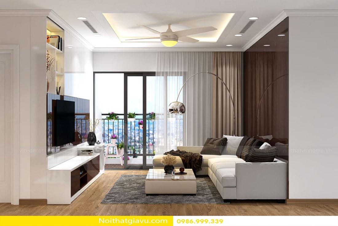 nội thất phòng khách chung cư đẹp đẳng cấp hiện đại 09