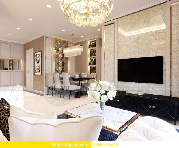 Thiết kế nội thất căn hộ chung cư D Capitale tòa C3 – call 0986999339