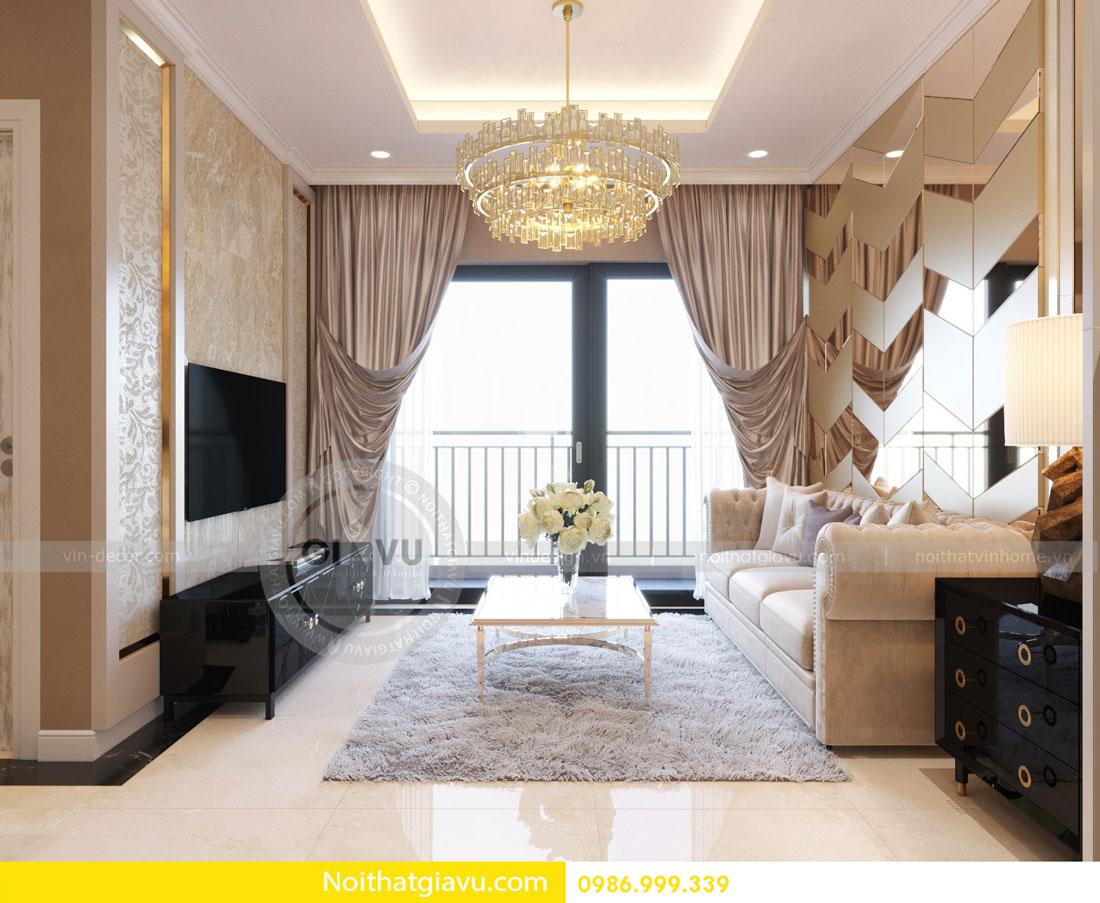 Thiết kế nội thất căn hộ chung cư D Capitale tòa c3 call 0986999339 03