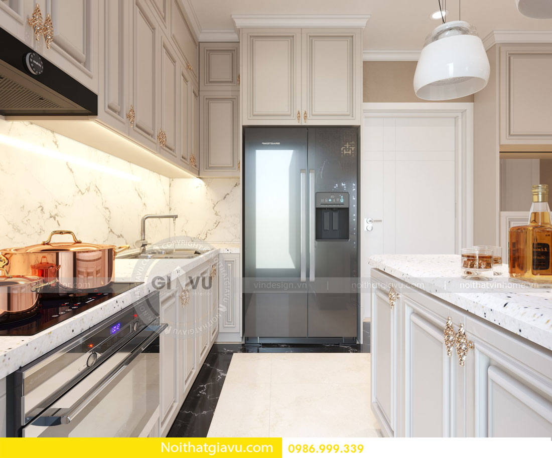 Thiết kế nội thất căn hộ chung cư D Capitale tòa c3 call 0986999339 06