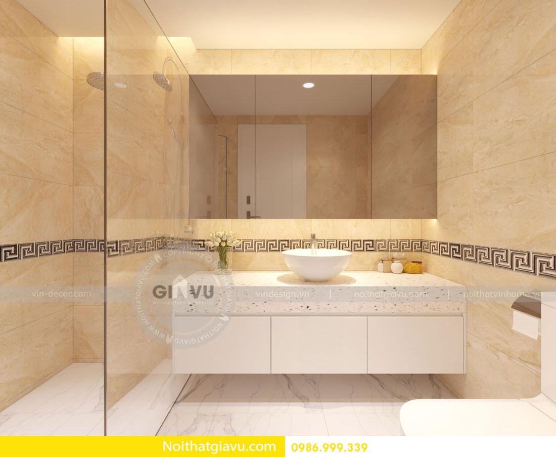 Thiết kế nội thất căn hộ chung cư D Capitale tòa c3 call 0986999339 13