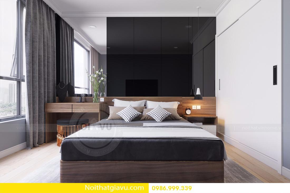 thiết kế nội thất căn hộ D'capitale 2 phòng ngủ 07