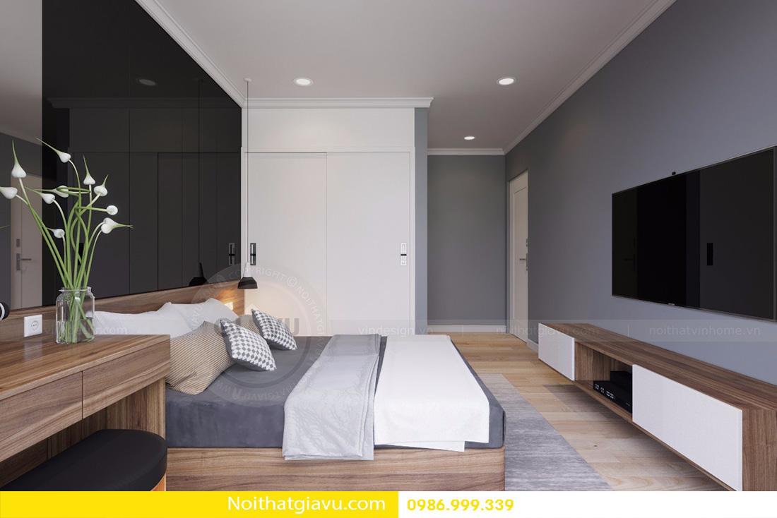 thiết kế nội thất căn hộ D'capitale 2 phòng ngủ 08