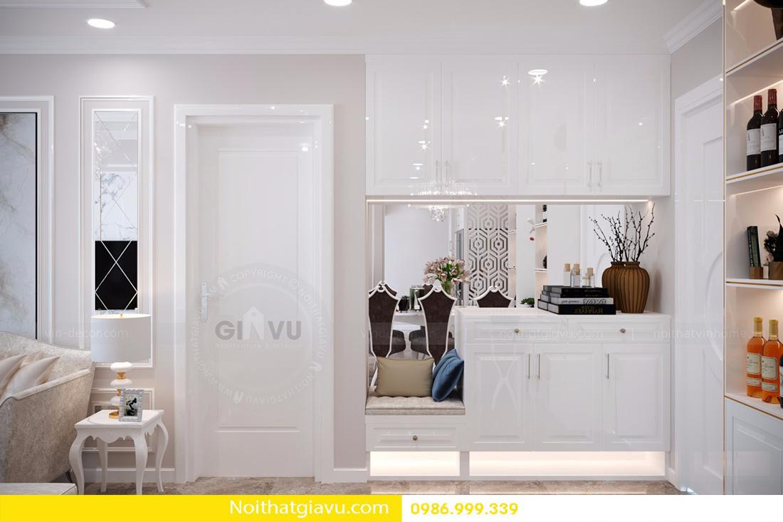 thiết kế nội thất căn hộ Vinhomes D'Capitale 02