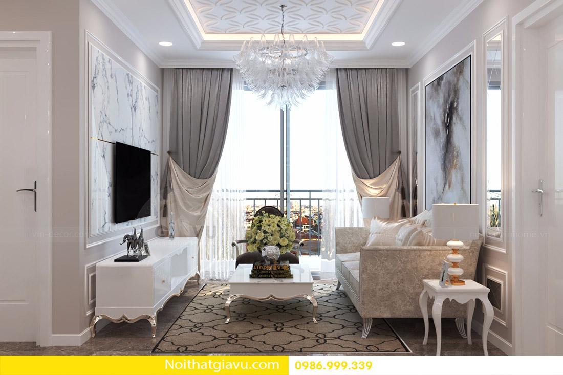 thiết kế nội thất căn hộ Vinhomes D'Capitale 03