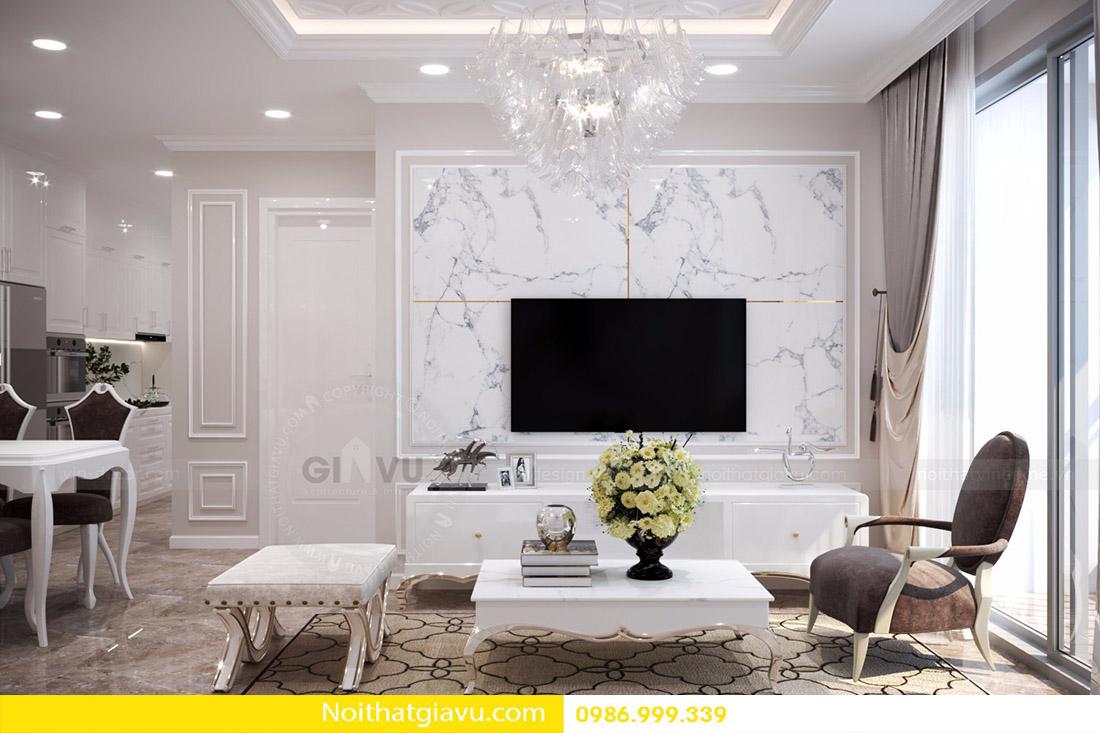 thiết kế nội thất căn hộ Vinhomes D'Capitale 04