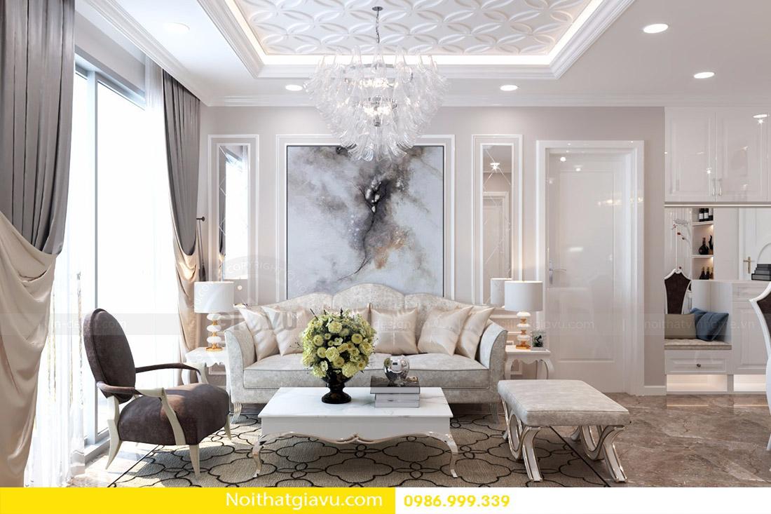 thiết kế nội thất căn hộ Vinhomes D'Capitale 05