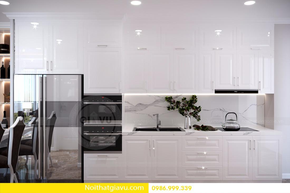 thiết kế nội thất căn hộ Vinhomes D'Capitale 07