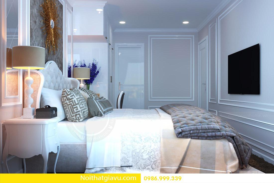 thiết kế nội thất căn hộ Vinhomes D'Capitale 08