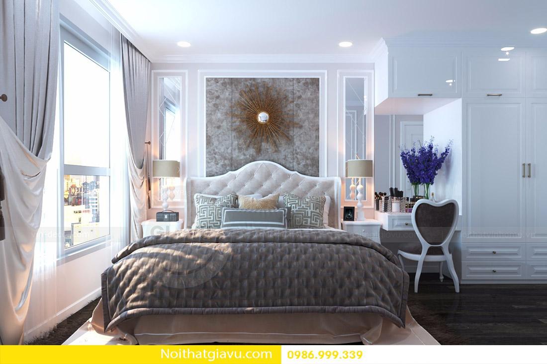 thiết kế nội thất căn hộ Vinhomes D'Capitale 09