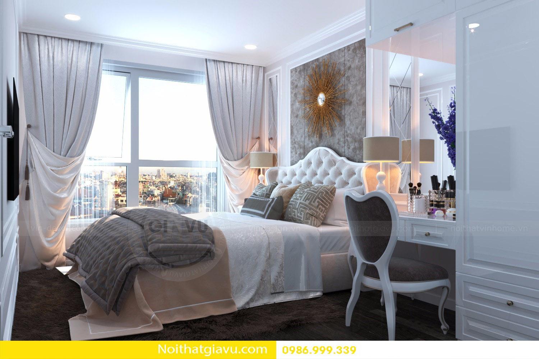 thiết kế nội thất căn hộ Vinhomes D'Capitale 10