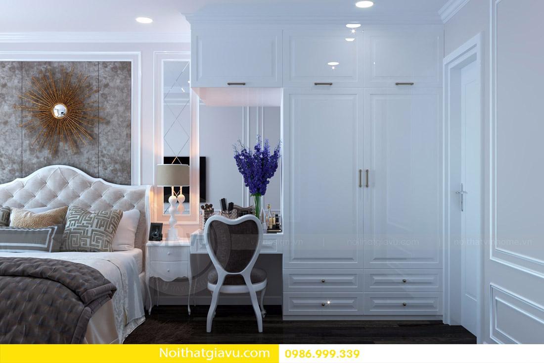 thiết kế nội thất căn hộ Vinhomes D'Capitale 11