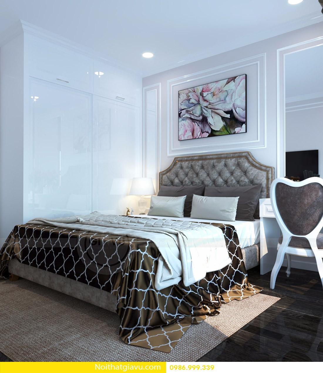 thiết kế nội thất căn hộ Vinhomes D'Capitale 13
