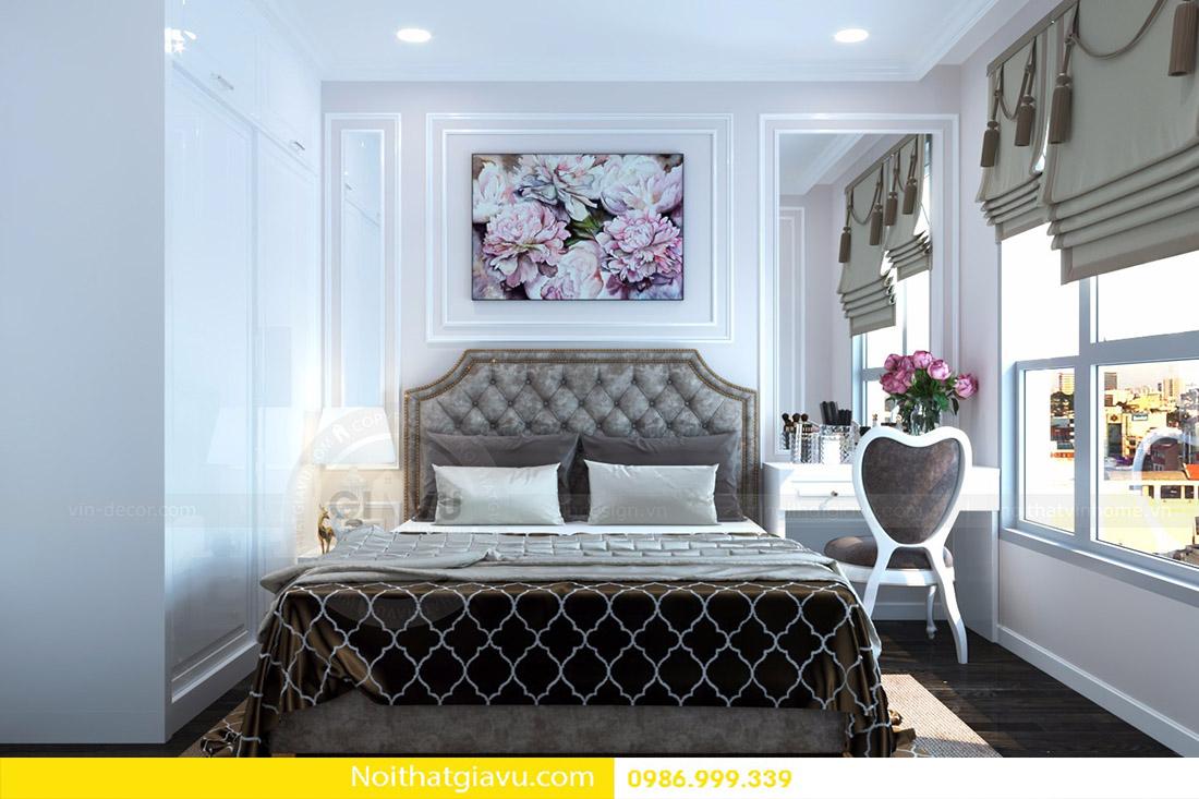 thiết kế nội thất căn hộ Vinhomes D'Capitale 14