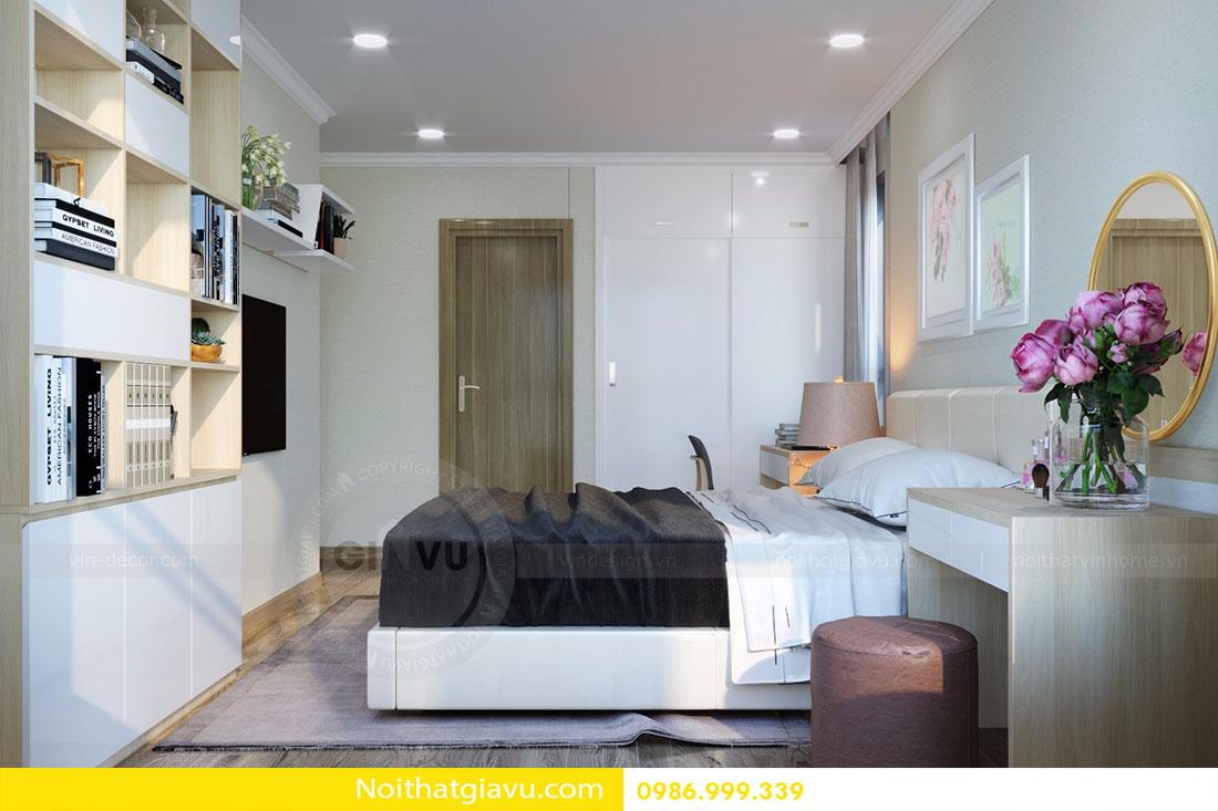 Thiết kế nội thất chung cư Gardenia tòa A3 căn 06 view 10