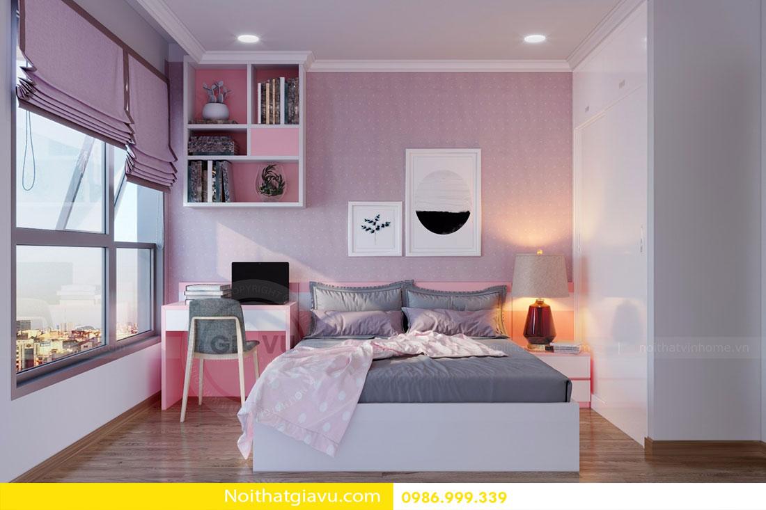 Thiết kế nội thất chung cư Gardenia tòa A3 căn 06 view 11