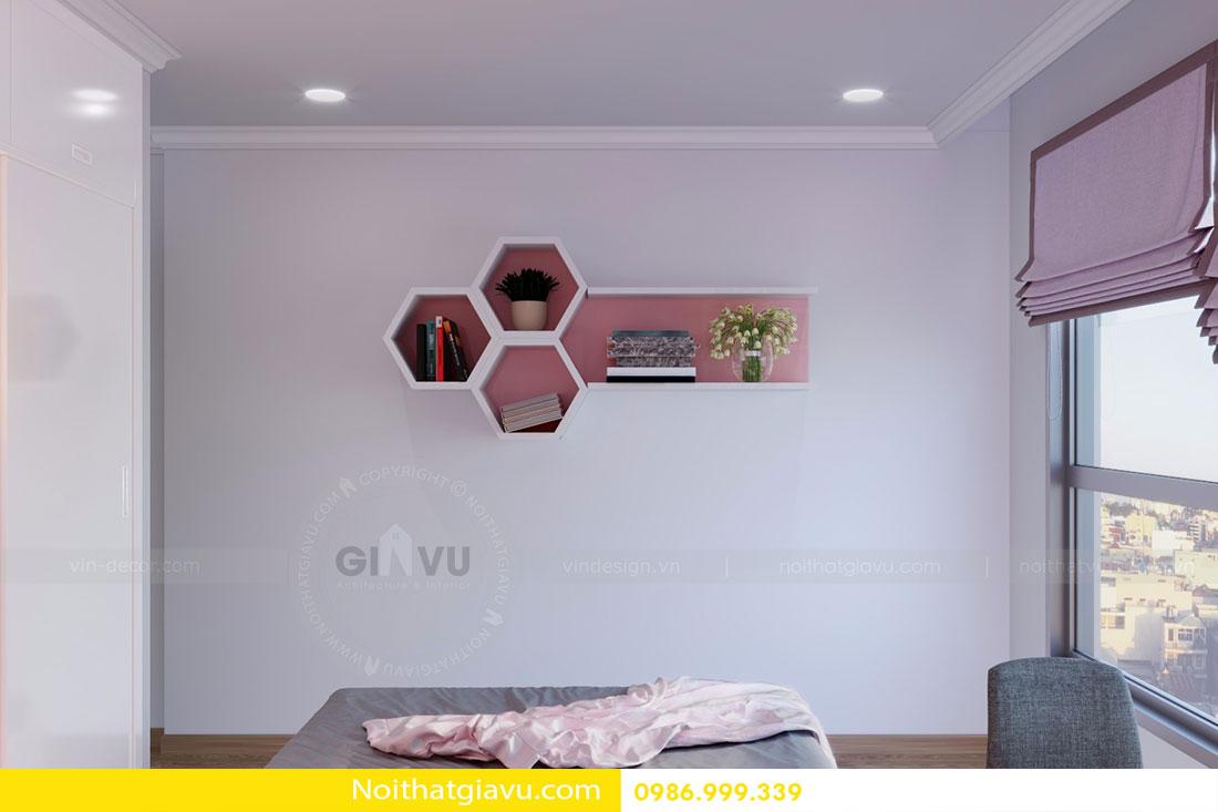 Thiết kế nội thất chung cư Gardenia tòa A3 căn 06 view 12
