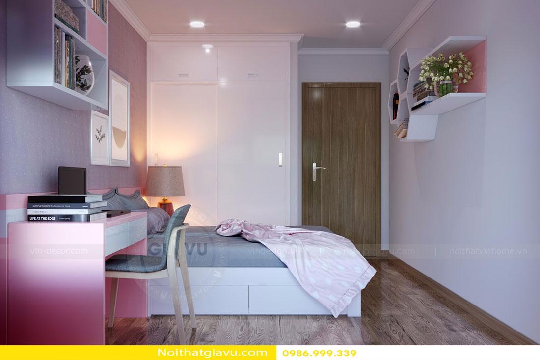 Thiết kế nội thất chung cư Gardenia tòa A3 căn 06 view 13