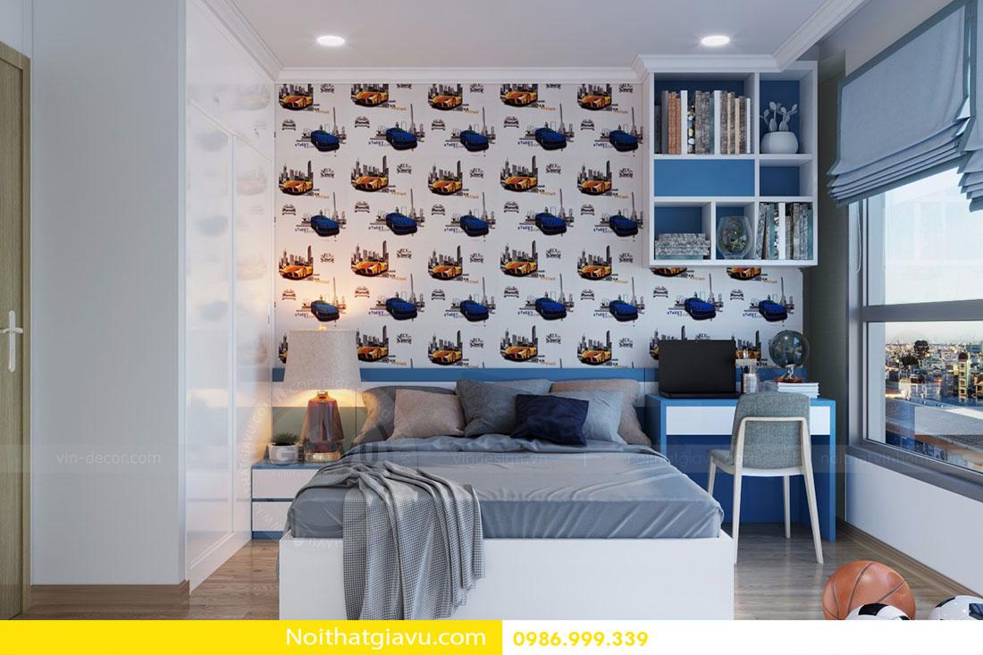 Thiết kế nội thất chung cư Gardenia tòa A3 căn 06 view 14