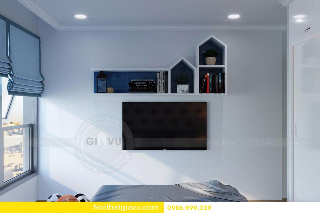 Thiết kế nội thất chung cư Gardenia tòa A3 căn 06 view 15