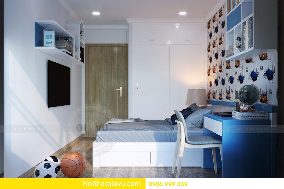 Thiết kế nội thất chung cư Gardenia tòa A3 căn 06 view 16