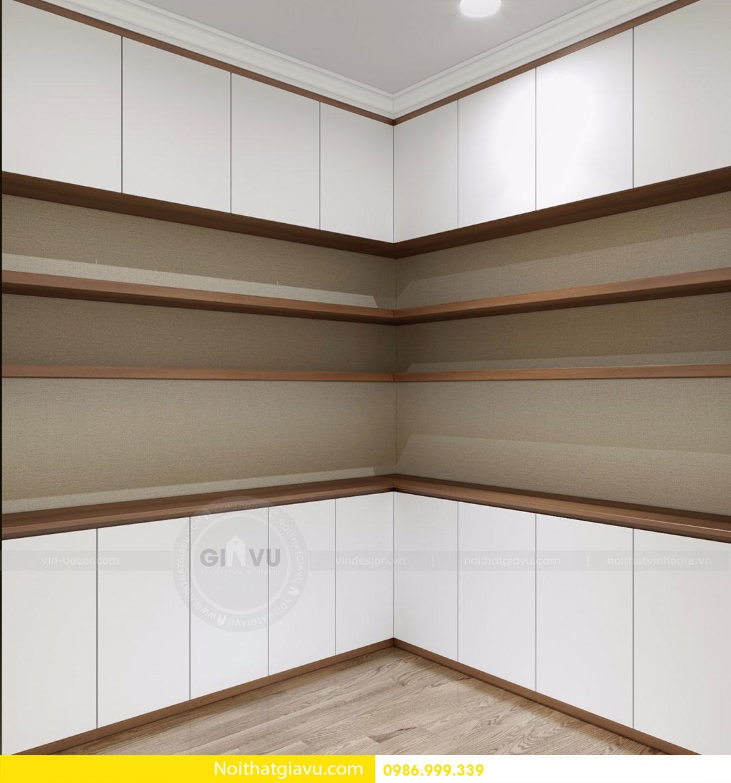 Thiết kế nội thất chung cư Gardenia tòa A3 căn 06 view 6