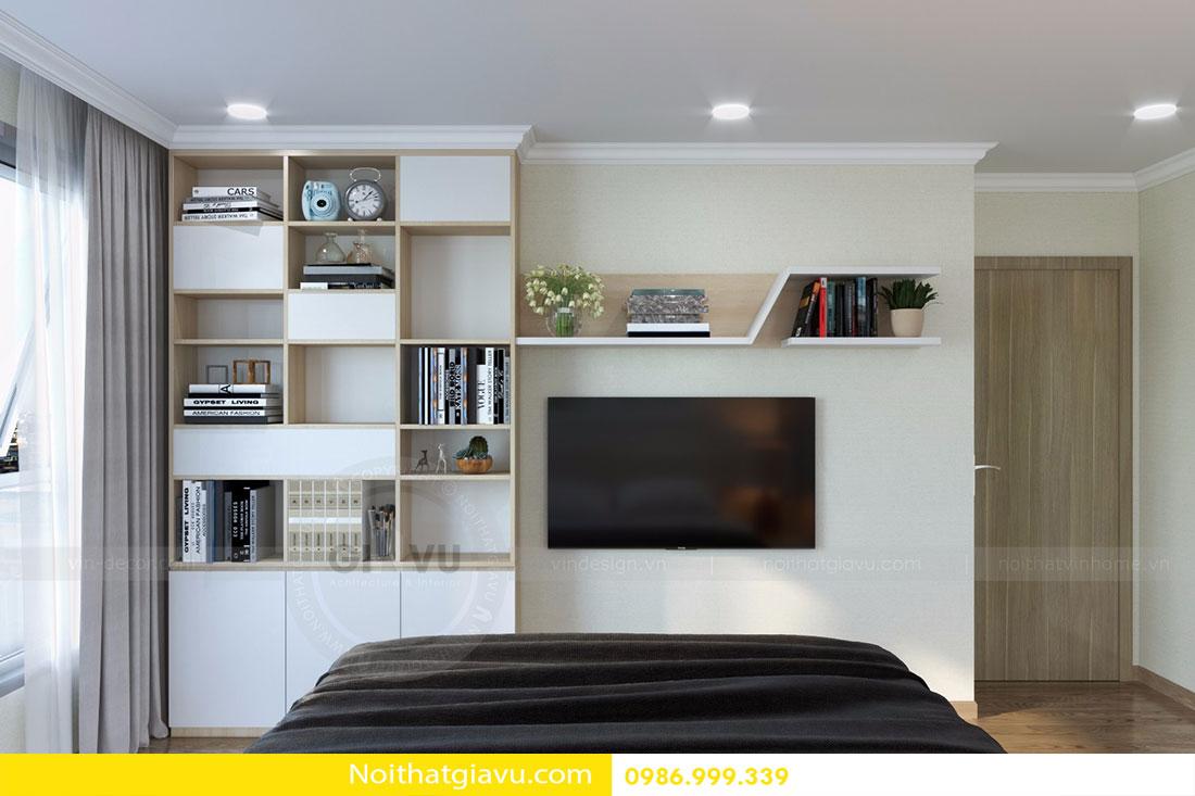 Thiết kế nội thất chung cư Gardenia tòa A3 căn 06 view 9
