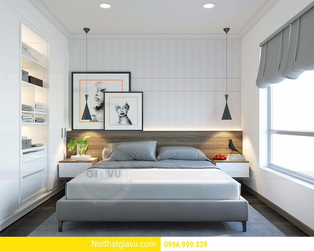 Thiết kế nội thất chung cư Mandarin Garden 2 view 6