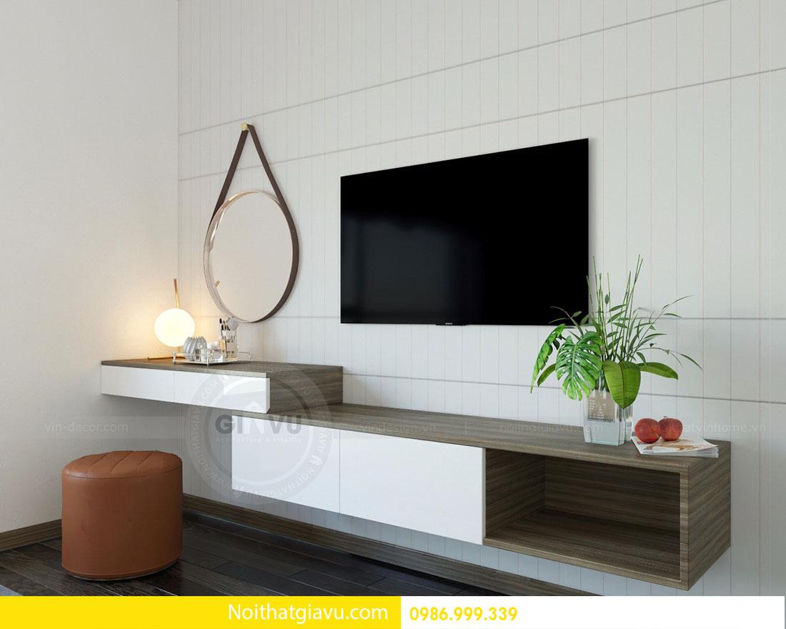 Thiết kế nội thất chung cư Mandarin Garden 2 view 7