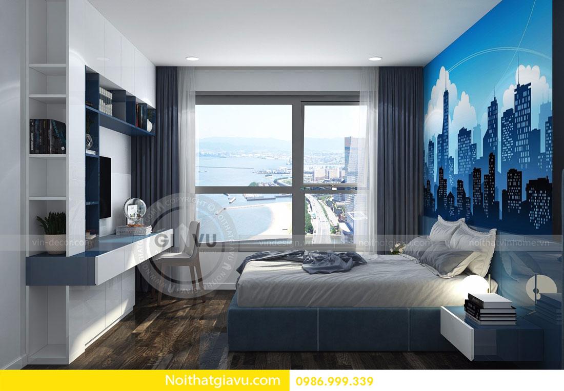 Thiết kế nội thất chung cư Vinhomes D Capitale tòa c3 căn 06 08