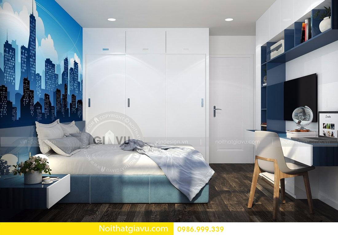 Thiết kế nội thất chung cư Vinhomes D Capitale tòa c3 căn 06 09