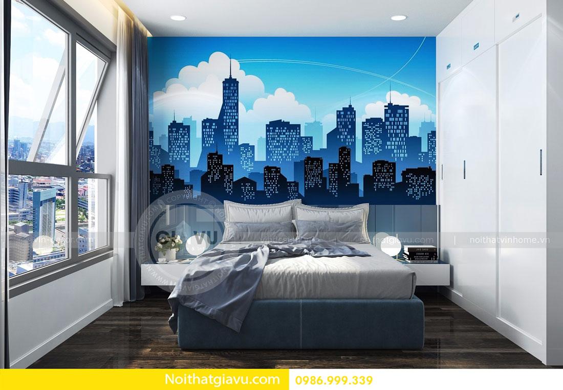 Thiết kế nội thất chung cư Vinhomes D Capitale tòa c3 căn 06 10