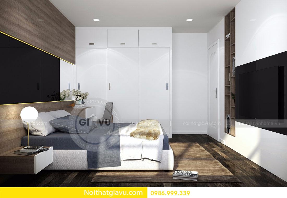 Thiết kế nội thất chung cư Vinhomes D Capitale tòa c3 căn 06 11