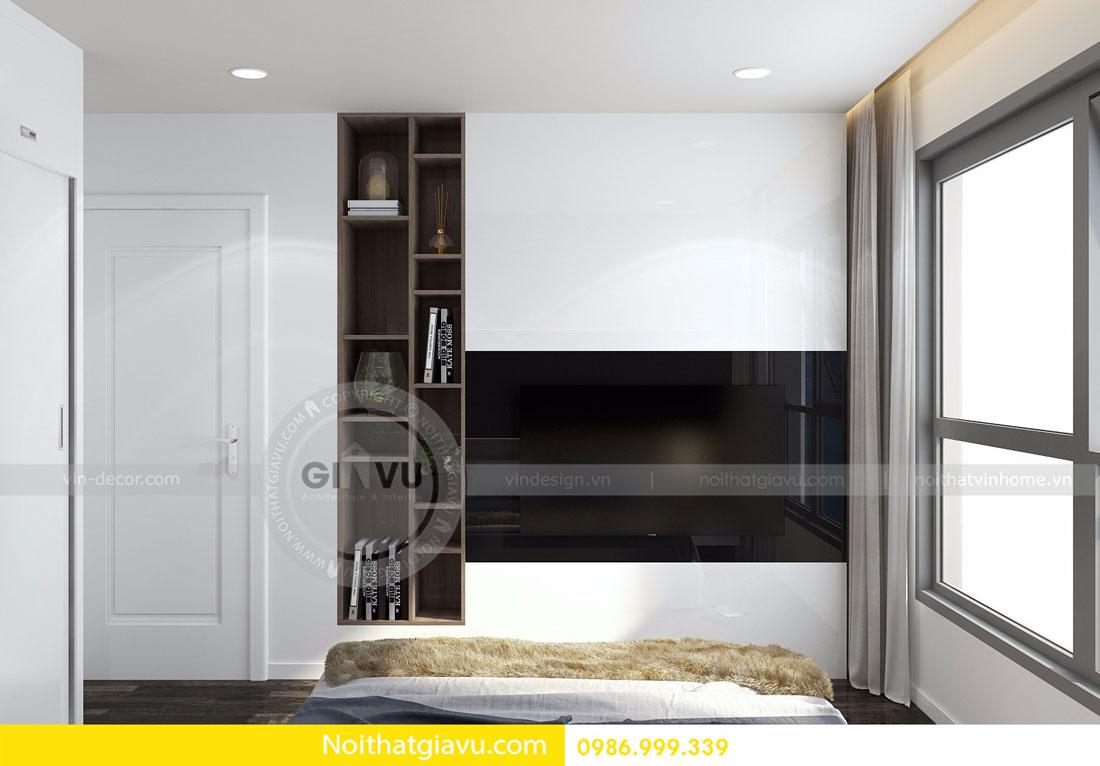 Thiết kế nội thất chung cư Vinhomes D Capitale tòa c3 căn 06 13