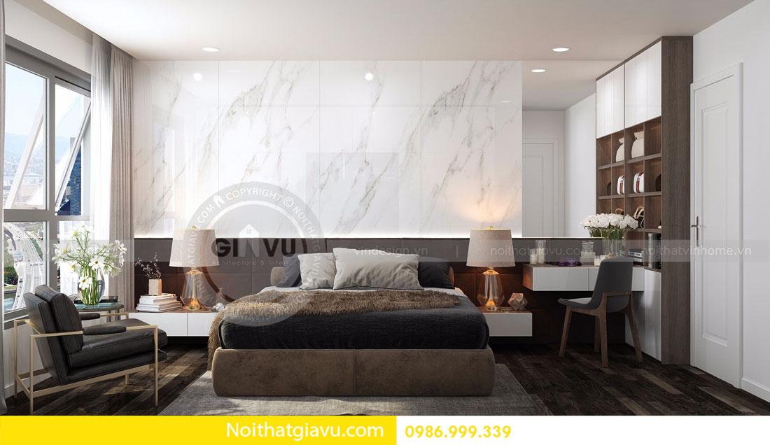 Thiết kế nội thất chung cư Vinhomes D Capitale tòa c3 căn 06 15